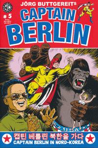 CAPTAIN BERLIN, Band 5, Weissblech Comics