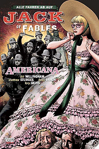 Jack of Fables, Band 4, Panini Comics (Vertigo/Wildstorm)