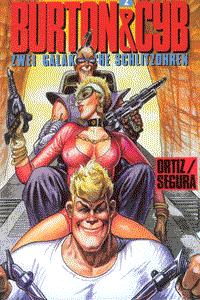 Burton & Cyb, Band 2, Edition Kunst der Comics