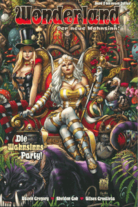 Wonderland - Der neue Wahnsinn, Band 2, Panini Comics (Vertigo/Wildstorm)