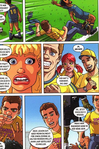 Fussball Comics, Comicshop Comicriese, 11 x Fussball, Inkplosion