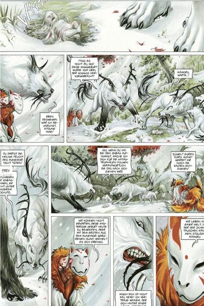 Die Legende der scharlachroten Wolken - Izunas, Splitter Comics