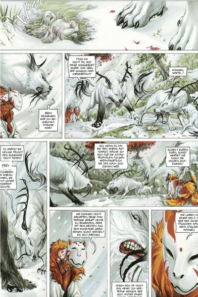 Die Legende der scharlachroten Wolken - Izunas, Band 1, Kamigakushi, G�tter Comics, Jean Dufaux, Carita Lupattelli, 14.80 �