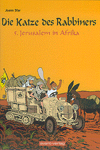Die Katze des Rabbiners, Band 5, Avant Verlag