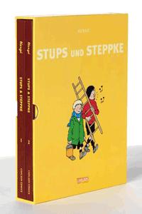 Stups und Steppke, Band 1 + 2 im Schuber, Carlsen Comics