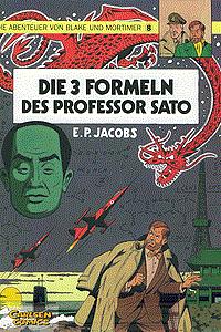 Die Abenteuer von Blake und Mortimer, Band 8, Die 3 Formeln des Professor Sato