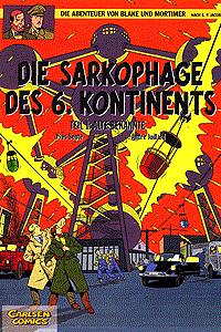 Die Abenteuer von Blake und Mortimer, Band 13, Carlsen Comics