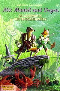 Mit Mantel und Degen, Band 4, Carlsen Comics