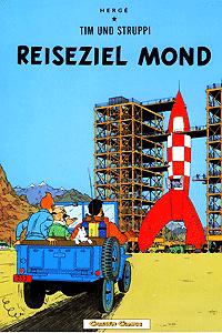 Tim & Struppi, Band 15, Reiseziel Mond