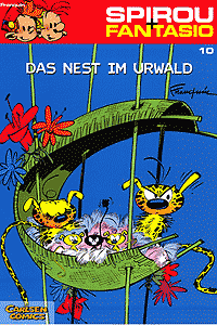 Spirou und Fantasio, Band 10, Das Nest im Urwald