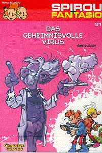 Spirou und Fantasio, Band 31, Das geheimnisvolle Virus