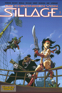 Die Chroniken von Sillage, Band 1, Carlsen Comics