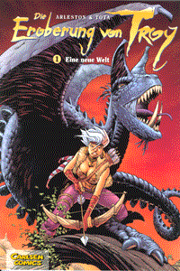 Die Eroberung von Troy, Band 1, Carlsen Comics