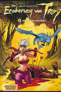 Die Eroberung von Troy, Band 2, Carlsen Comics