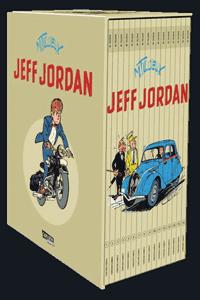 Jeff Jordan [comics] [gesamtausgabe], Schuber, 16 Fälle für Privatdetektiv Jeff Jordan