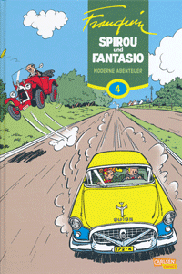 Spirou & Fantasio Gesamtausgabe, Band 4, Carlsen Comics