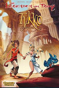 Die Legenden von Troy, Band 2, Tykko, der W�stensohn - Die versunkene Stadt