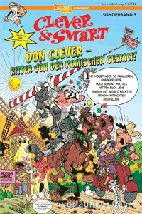 Clever & Smart Sonder, Band 5, Carlsen Comics