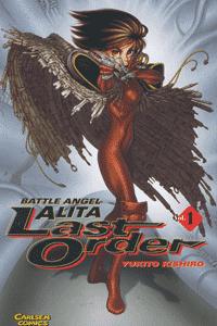 Battle Angel Alita: Last Order, Band 1, Carlsen-Manga