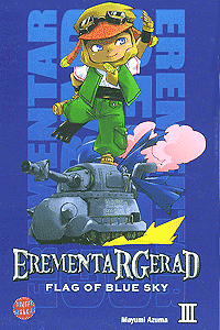 Erementar Gerad - Flag of the Blue Sky, Band 3, Carlsen-Manga