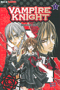 Vampire Knight, Band 1, Carlsen-Manga
