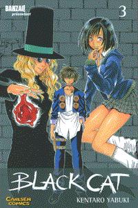 Black Cat, Band 3, Carlsen-Manga
