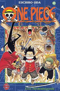 One Piece, Band 43, Carlsen-Manga