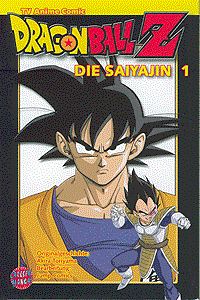 Dragon Ball Z - Die Saiyajin, Band 1, Carlsen-Manga