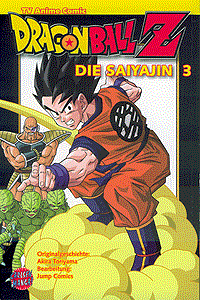 Dragon Ball Z - Die Saiyajin, Band 3, Carlsen-Manga