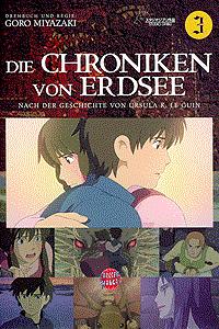 Die Chroniken von Erdsee, Band 3, Carlsen-Manga