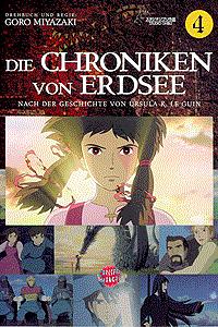 Die Chroniken von Erdsee, Band 4, Carlsen-Manga