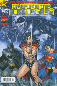 Infinite Crisis, Band 1, Superboy, Nightwing, Donna Troy