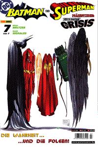 BATMAN UND SUPERMAN präsentieren: IDENTITY CRISIS, Band 7, DC/Panini Comics