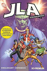 DC Premium 48: JLA Softcover, Einzelband, Schicksalsspiele