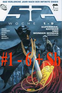 52 Comic, Band 1-6+Sb, Woche 1 - 52