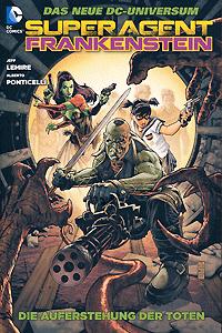 Superagent Frankenstein, Band 1, DC/Panini Comics
