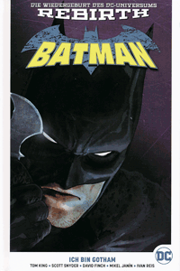 BATMAN PAPERBACK | REBIRTH lim. Hardcover, Band 1, Ich bin Gotham