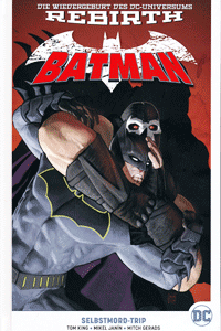 BATMAN PAPERBACK | REBIRTH lim. Hardcover, Band 2, Selbstmord-Trip