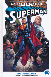 SUPERMAN PAPERBACK | REBIRTH lim. Hardcover, Band 1, DC/Panini Comics