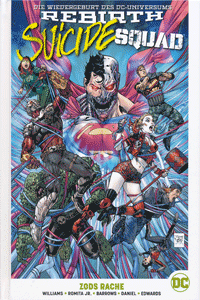 SUICIDE SQUAD PAPERBACK lim. Hardcover, Band 2, Zods Rache