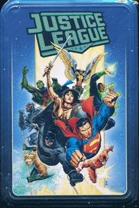 JUSTICE LEAGUE [variant-metallbox] [999 exemplare], Comicbox, DC/Panini Comics