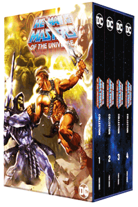 He-Man und die Masters of the Universe - Deluxe Collection, 4 Hardcover im Schuber, Sammelschuber