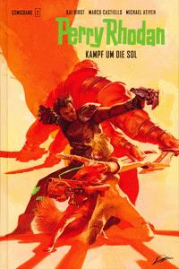 PERRY RHODAN COMIC Hardcover, Band 2, Kampf um die Sol