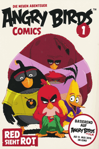 ANGRY BIRDS   Wütende Vögel - neue Abenteuer, Band 1, RED sieht rot