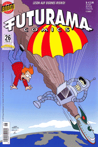 Futurama, Band 26, Geschichten von zweierlei Interesse