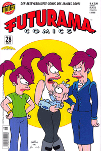 Futurama, Band 28, Panini Comics