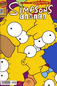 Simpsons, Band 101, Ein Geschichte 2er Brieffreunde