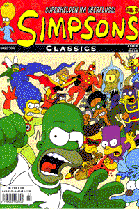 Simpsons Classics, Band 3, Panini Comics