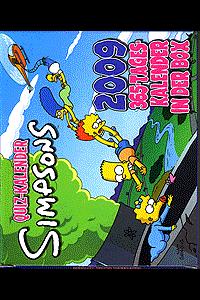 Simpsons: Quizkalender 2009, Kalender, Panini Comics