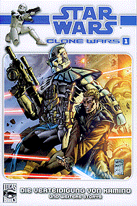 Star Wars Clone Wars, Band 1, Panini Comics